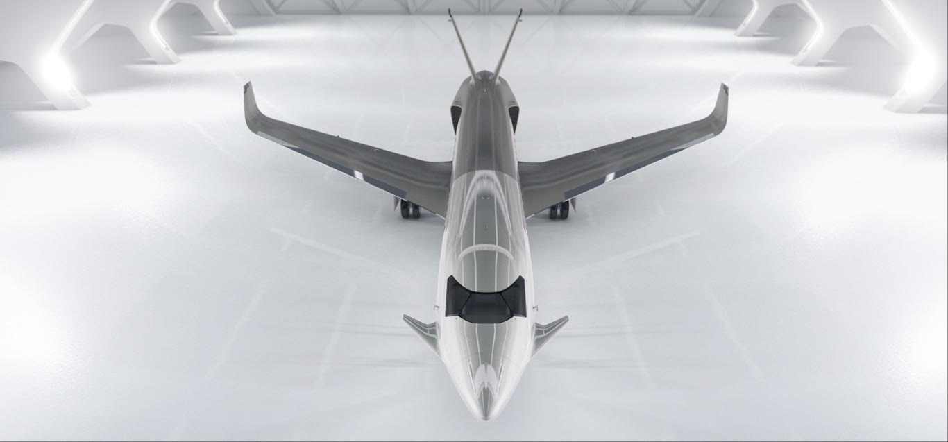 Este impresionante jet privado es la última locura de Peugeot