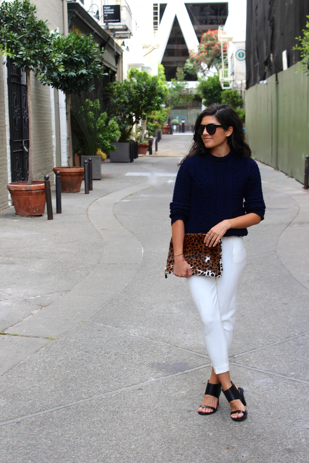 10 ways to wear white pants after Labor Day