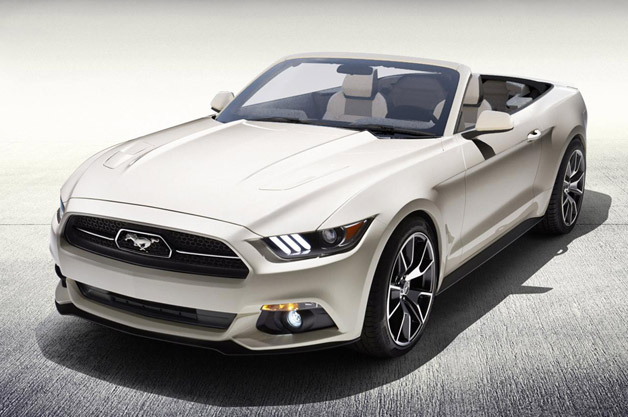 Ford Mustang 50 Years Convertible