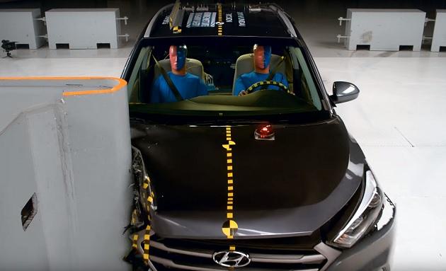 【ビデオ】スモールオーバーラップ衝突試験、助手席側は運転席側より安全性が劣るという結果に