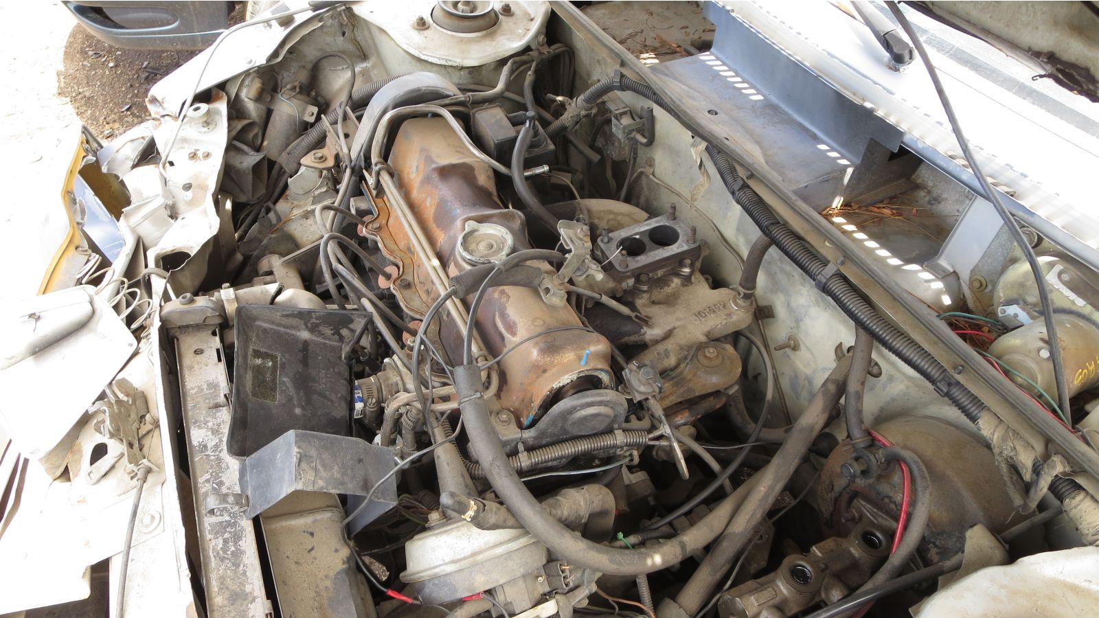1983 Dodge Rampage in Denver wrecking yard