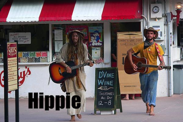 50 words for 50 states, vermont hippie