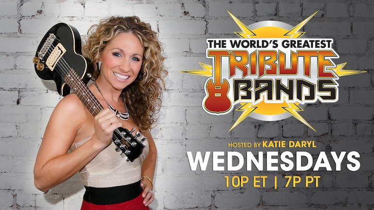 world's greatest tribute bands promo, katie daryl