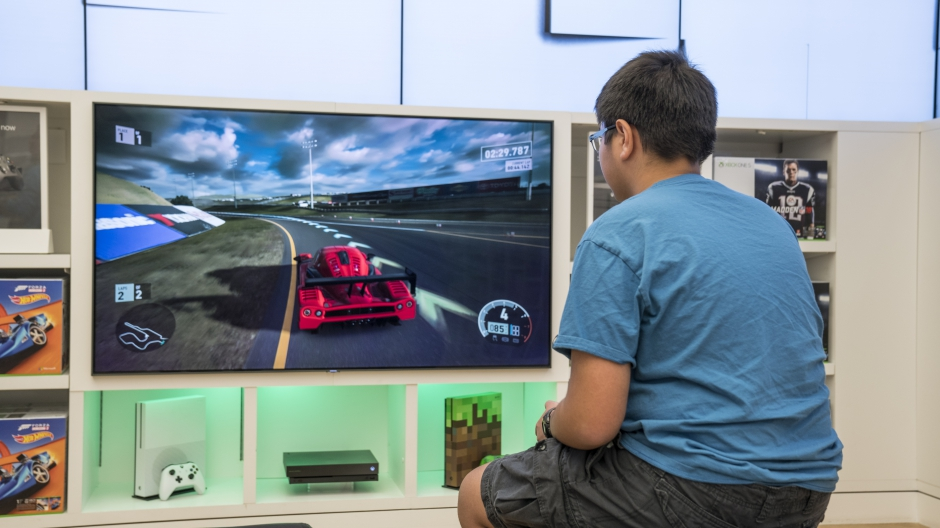 Try the Xbox One X before it launches at select Microsoft Stores