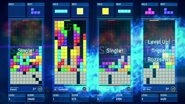 Check out Tetris Ultimate gameplay from NYCC 2014!