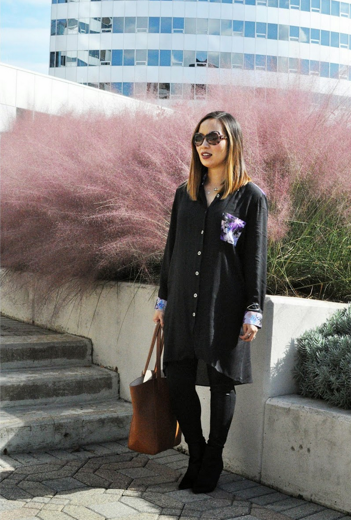 Street style tip of the day: A shirt dress