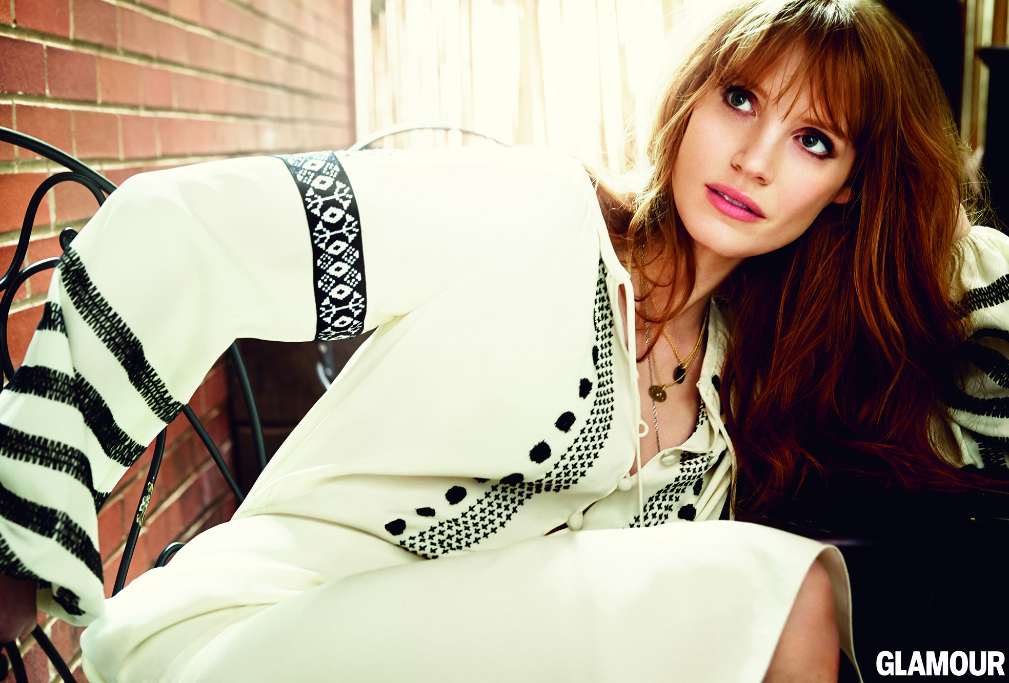 Jessica Chastain for Glamour
