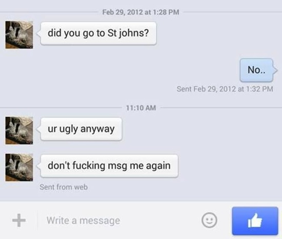 11 Guys Who Seem To Have A Difficult Time Handling Rejection