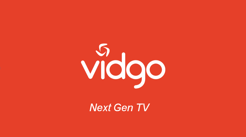 VIDGO TV streaming
