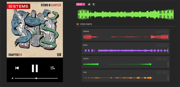 DJs can buy remix-friendly 'Stems' music files starting today