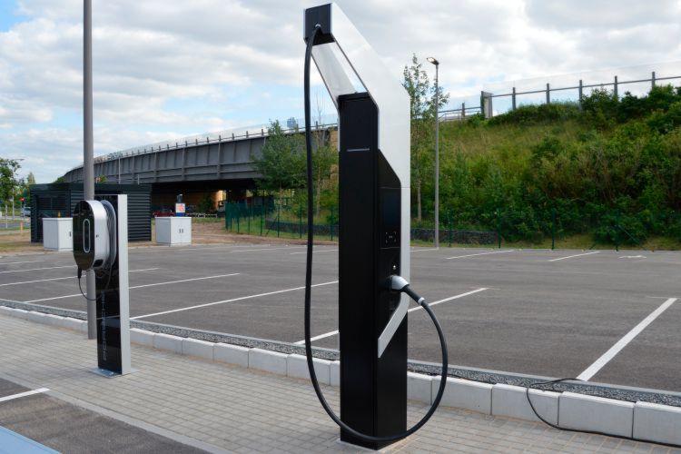 Porsche's new high-speed EV charging station