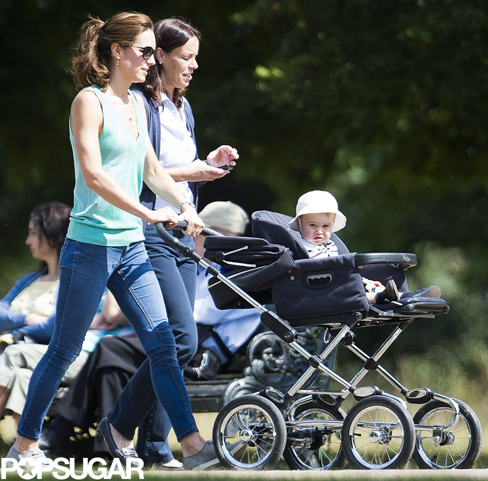 Prince George couldn't be cuter during his park day with Duchess Kate