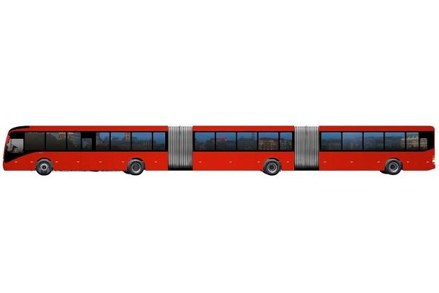 ボルボが、全長が30メートルもある世界最大のバスをブラジルで発表