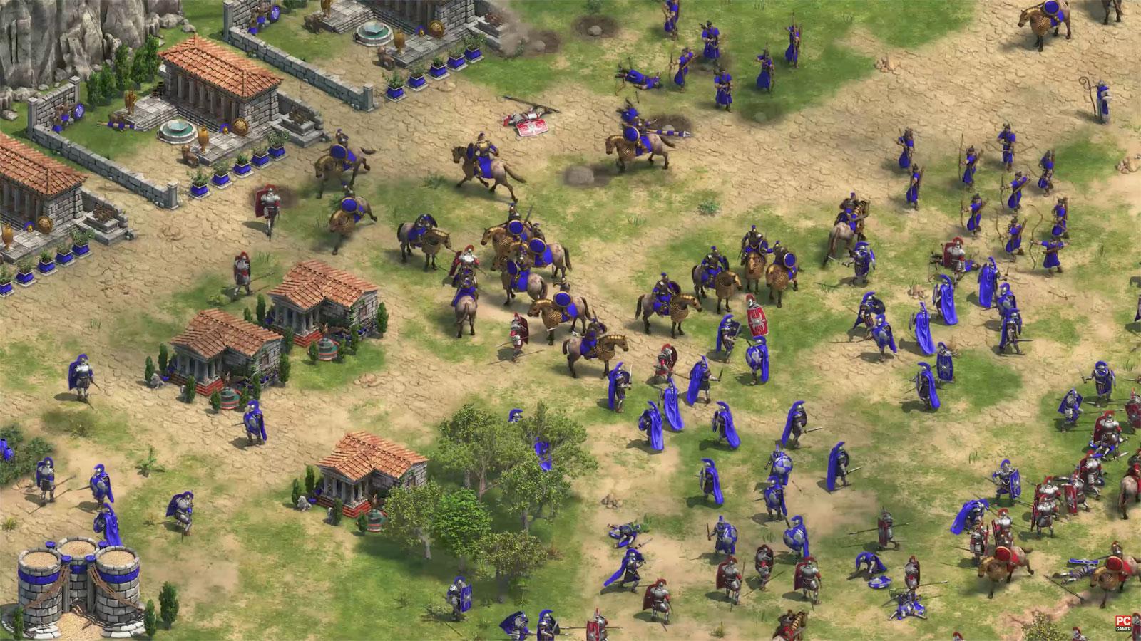 El mítico Age of Empires también dará el salto al 4K con 'Definitive edition'