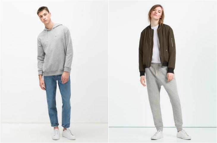 Zara ungendered clothing line