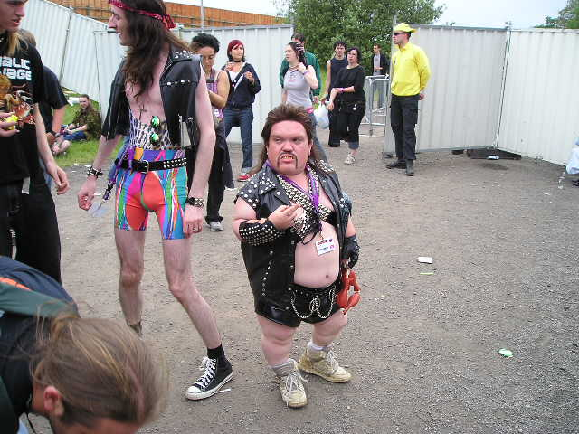 manliest photos on the internet, funny manly images, leather mullet midget