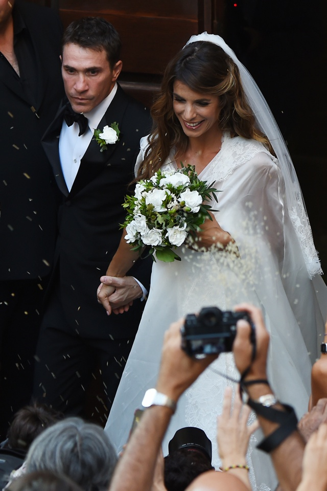 George Clooney's ex Elisabetta Canalis marries surgeon Brian Perri in Itay