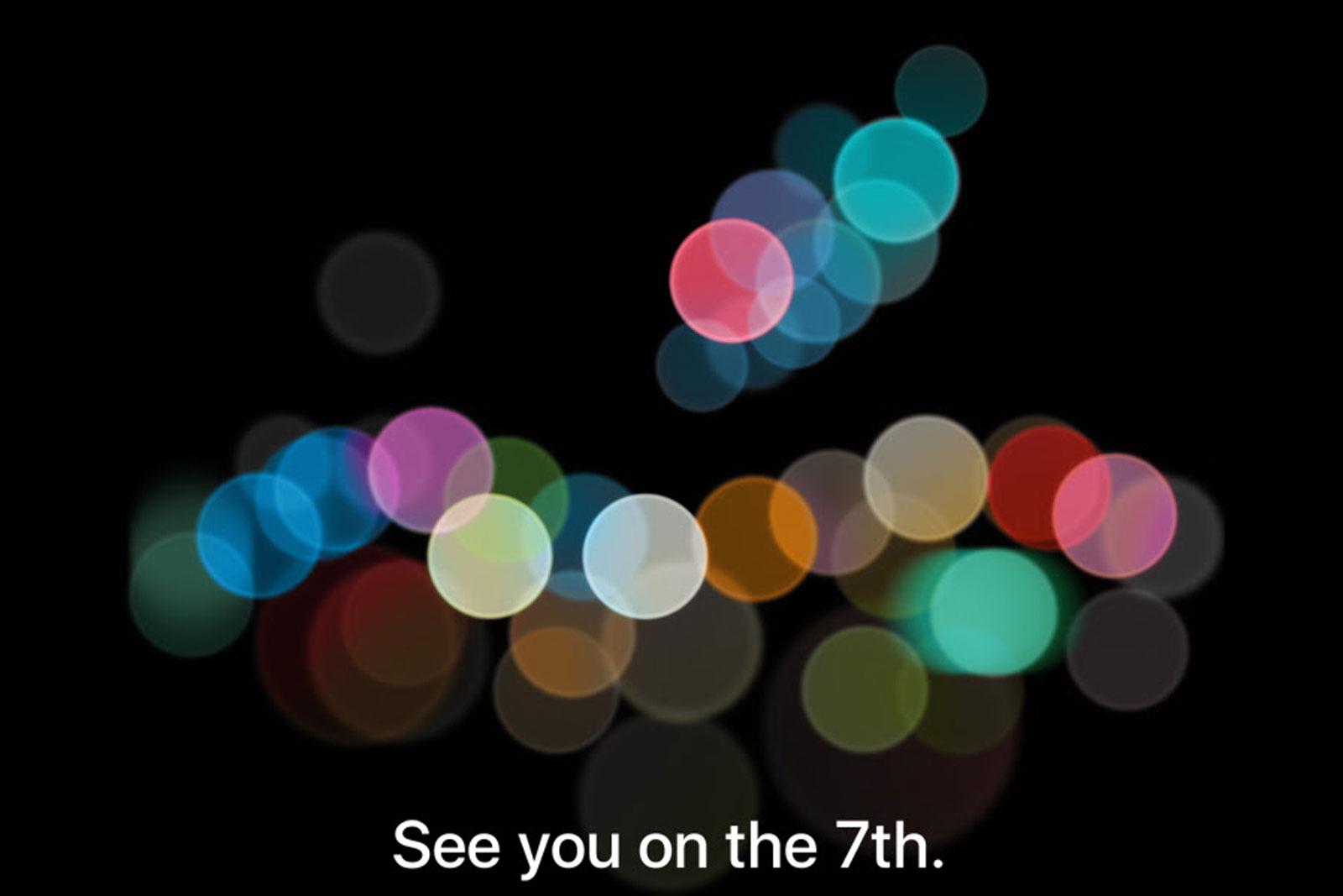 Apple iPhone 7 發表會重點總整理