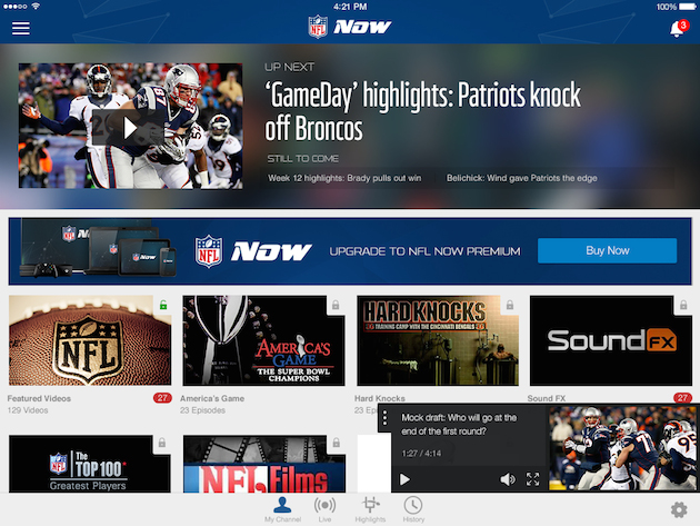 What to expect from NFL Now, the league's new video network