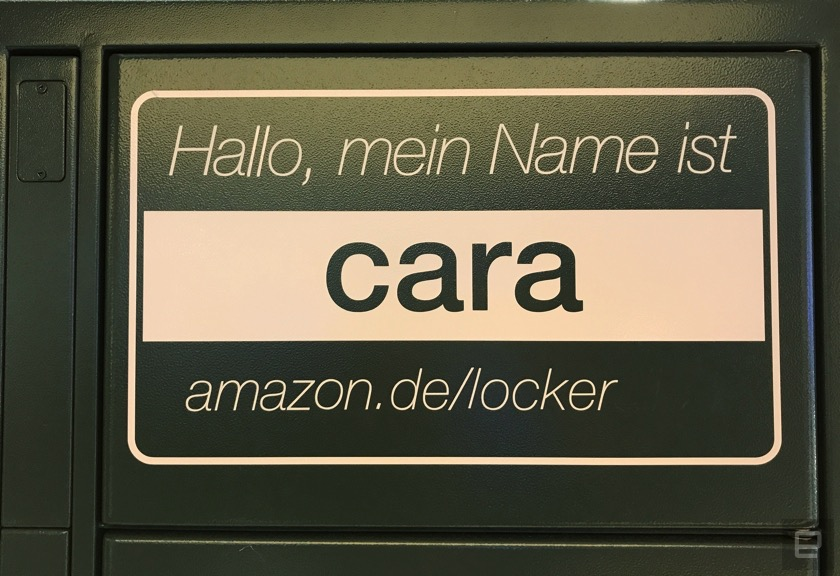 Auf Expansionskurs: Amazon Locker