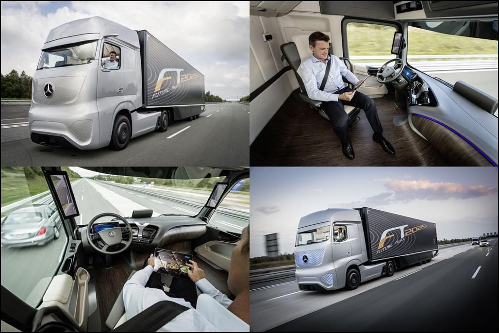 IAA, IAA Nutzfahrzeuge, 2014, Mercedes-Benz, Mercedes Lkw, autonom, Future Truck 2025, Premiere, Debüt, Mercedes-Benz Future Truck 2025, Bernhard,