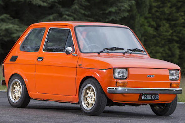 Chris Evans Fiat 126 Goes To Auction Online Aol Uk Cars