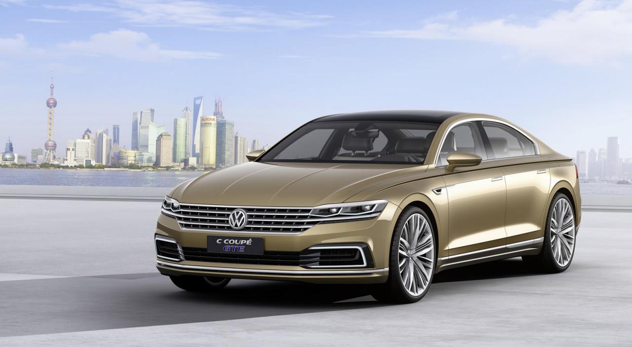 Auto shanghai, VW, Volkswagen, VW C Coupé GTE, Concept, VW Oberklasse, Premiwere, Shanghai