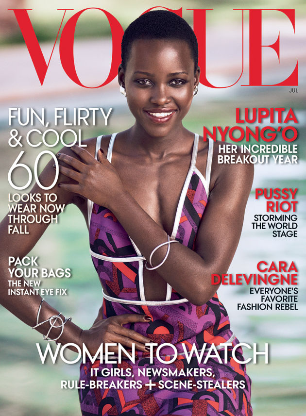 See Lupita Nyong'o on the cover of Vogue!