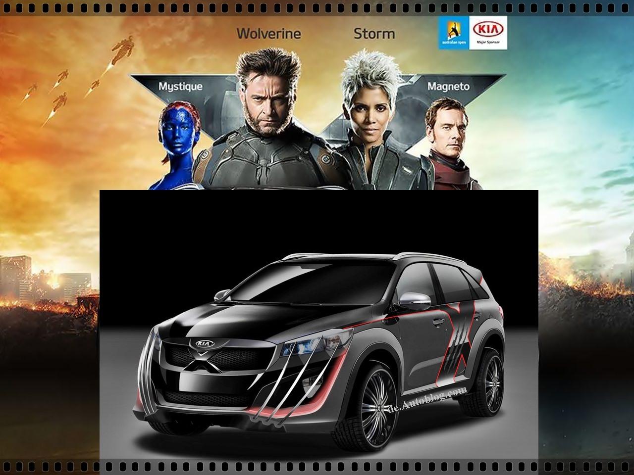 Kia Sorento X-car inspiriert von X-men und Wolverine