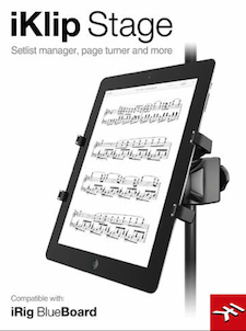iKlip Stage, App, App Store, music stand