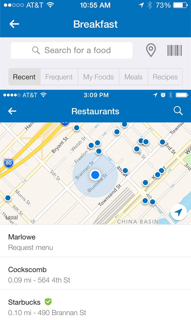 MyFitnessPal adds calorie counts for more restaurant meals