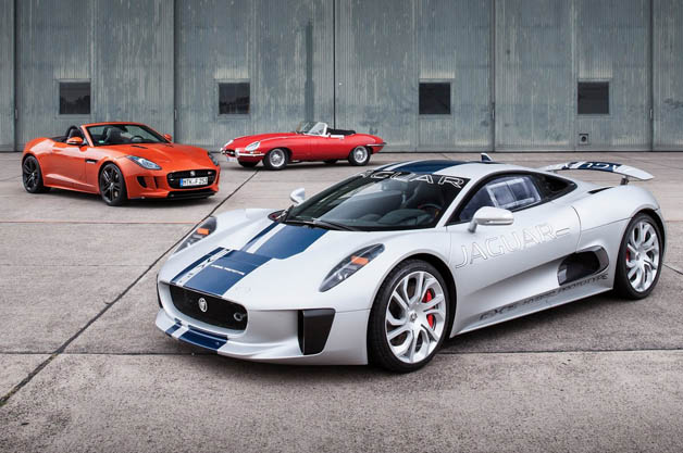 Jaguar Working On Lighter F Type With C X75 S Twin Charged