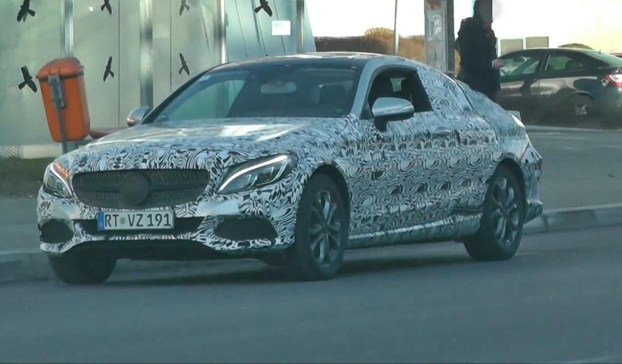 Erlkönig erwischt: Mercedes-Benz C-Klasse Coupé