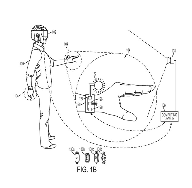 Sony files patent for 'Powerglove'-like controller