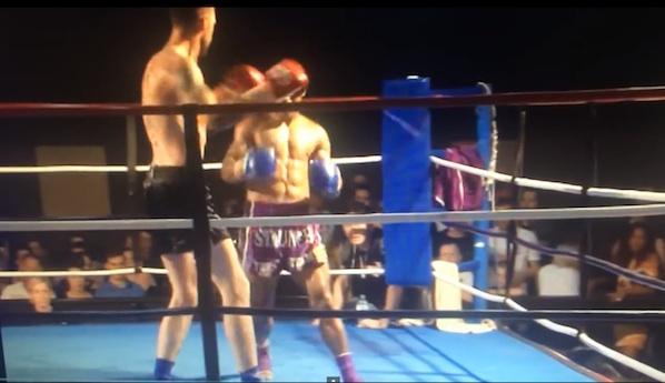 体格差ありすぎなキックボクシングの超絶KOシーンがジャイアントキリングすぎる