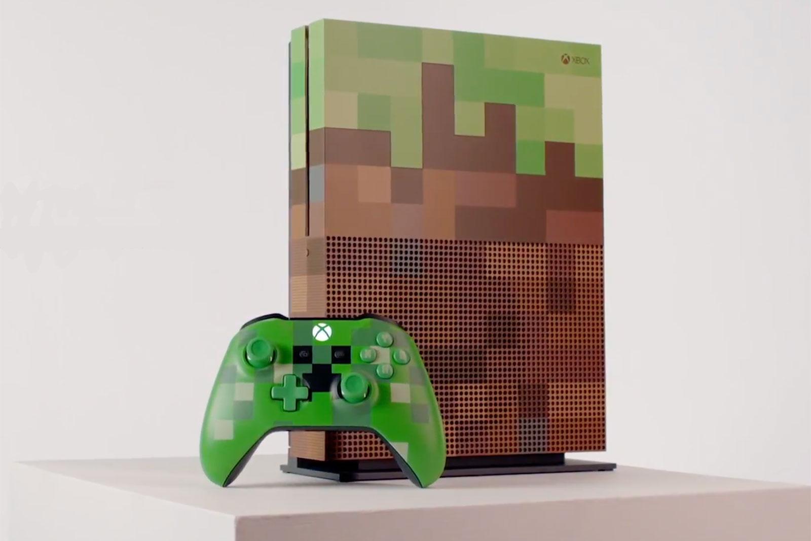 Microsoft unveils 'Minecraft' edition Xbox One S