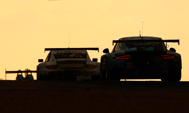 Porsche 911 RSR (77), Dempsey Proton Racing: Patrick Dempsey, Patrick Long, Marco Seefried