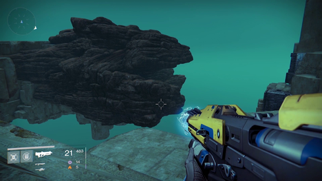 Destiny secret area discovered!