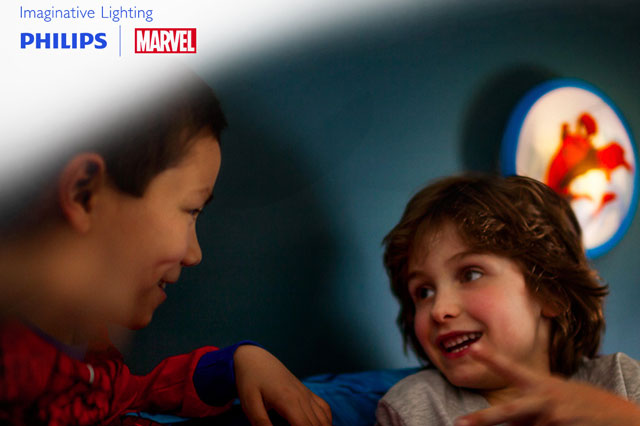 WIN a Super Hero bedroom lighting makeover with Philips and Marvel!