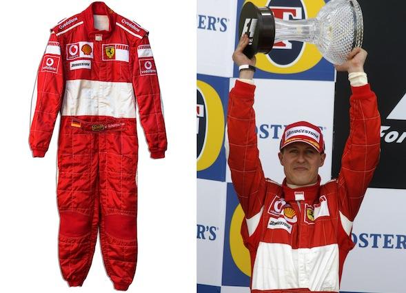 Schumacher's overalls