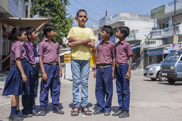 Is this the world's tallest five-year-old? Karan Singh is 5ft 7