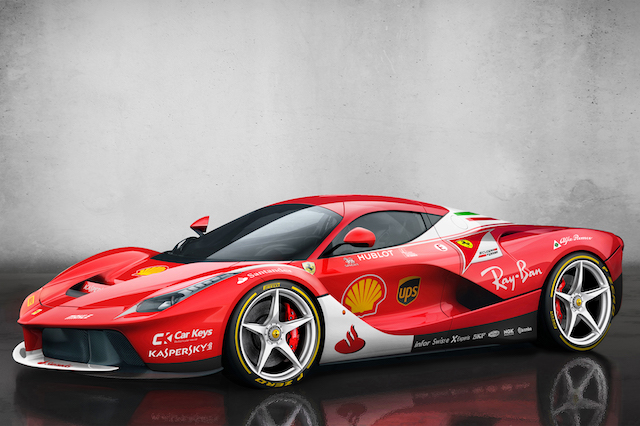 Supercars Reimagined With F Liveries AOL UK Cars - Sports cars keys