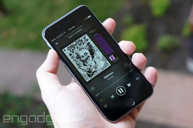 Spotify goes live in Canada