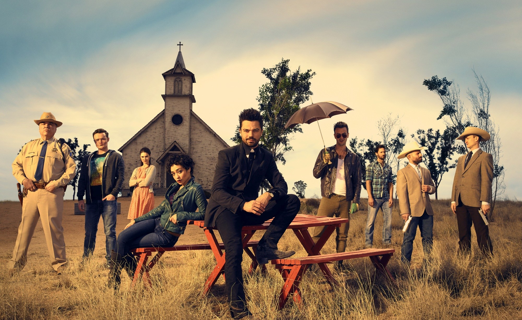 What's on your HDTV: season finales, playoffs and 'Preacher'