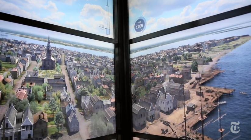 El ascensor del nuevo WTC de NY te hará viajar por el tiempo
