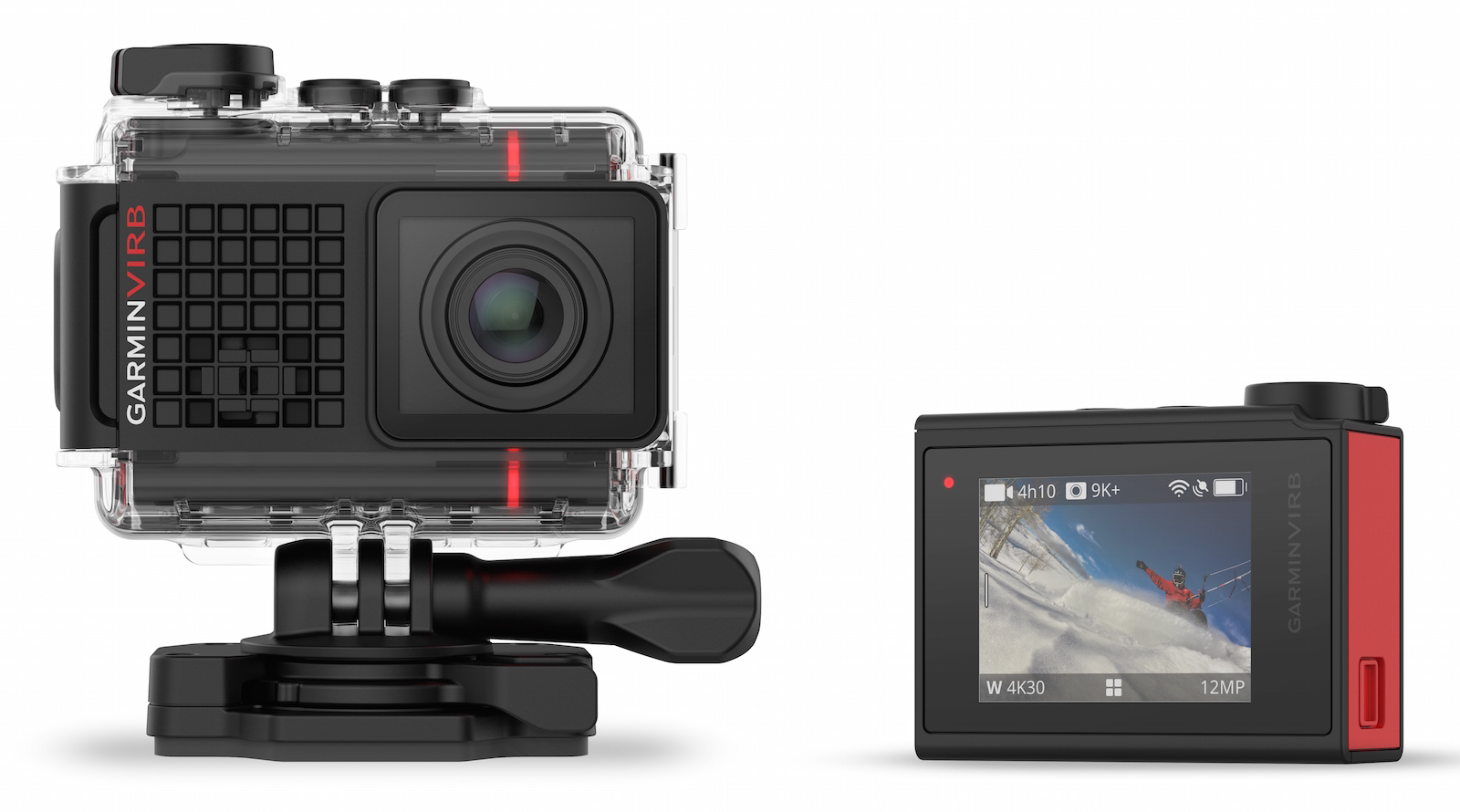 Garmin tiene una cámara de acción en 4K