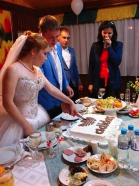 weird russia, strange russia, different in russia, russian adidas wedding cake