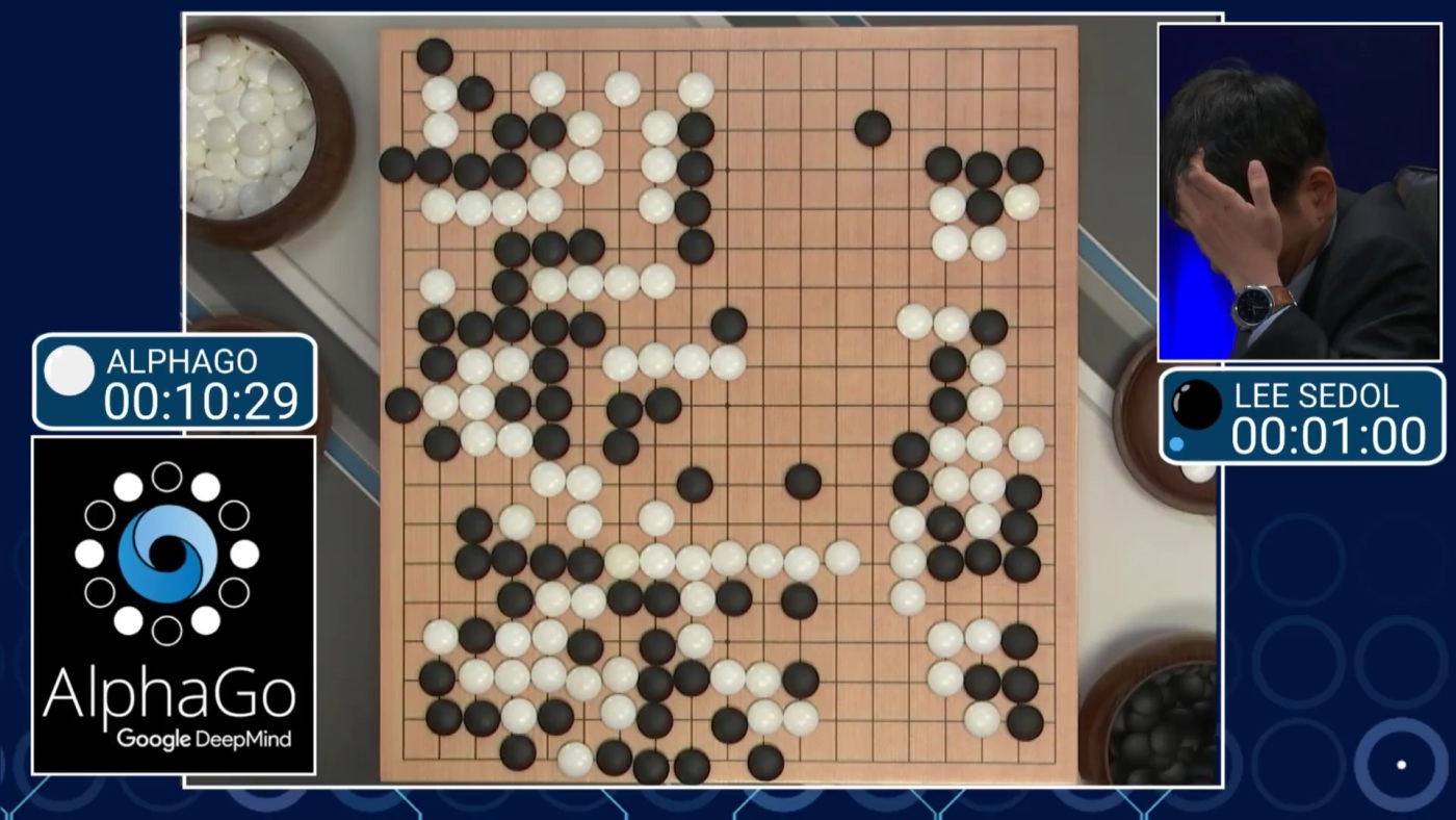 AlphaGo gewinnt das Duel gegen Lee Sedol