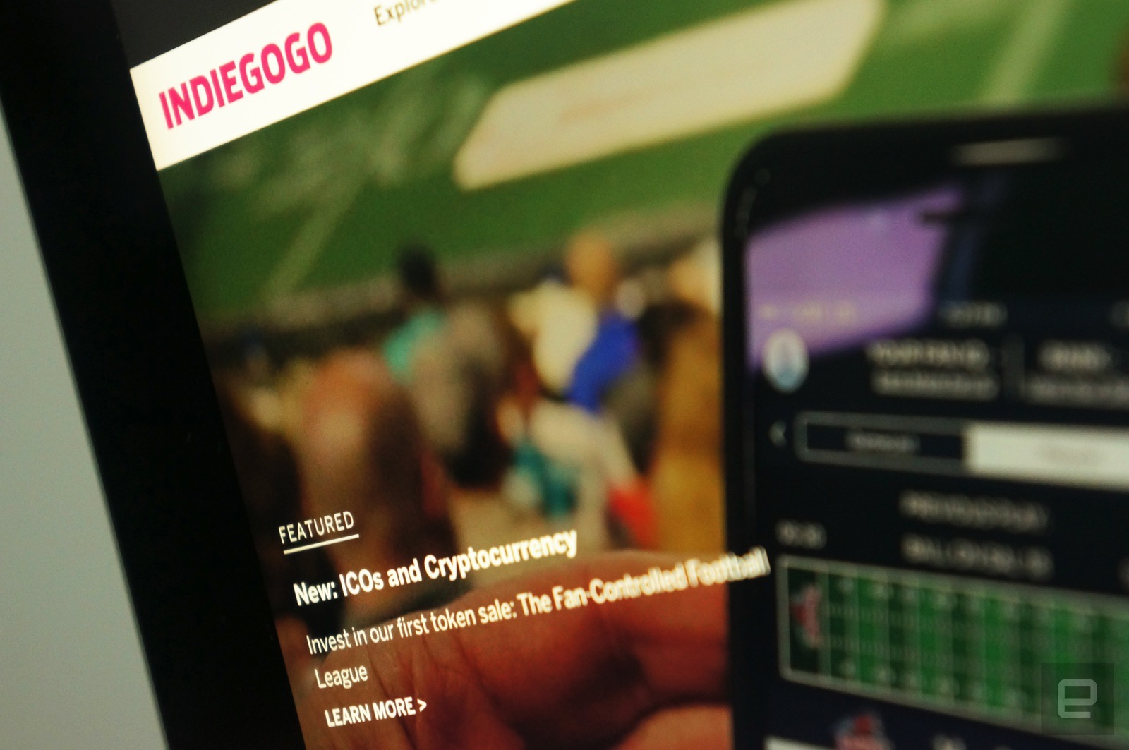 Indiegogo makes it easy to hop on the cryptocurrency bandwagon