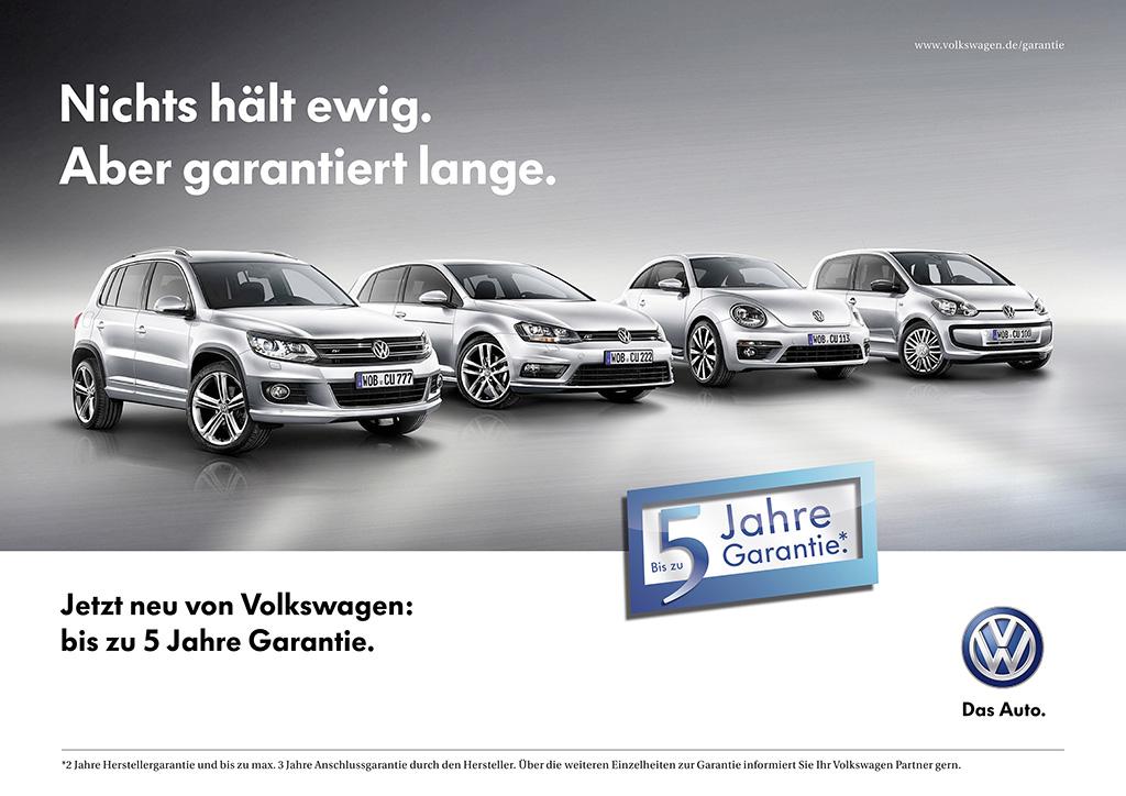 VW, Volkswagen, Garantie, Garantierverlängerung,